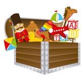 Stuk speelgoed ontwerp royalty-vrije illustratie