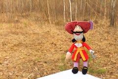 Stuk speelgoed piraat Royalty-vrije Stock Afbeeldingen