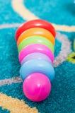 Stuk speelgoed ringen Royalty-vrije Stock Fotografie