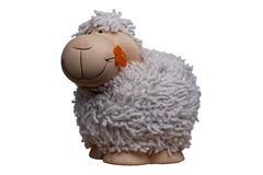 Stuk speelgoed schapen Royalty-vrije Stock Foto
