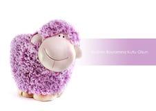 Stuk speelgoed schapen Stock Afbeeldingen