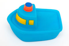 Stuk speelgoed schip Royalty-vrije Stock Fotografie