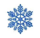 Stuk speelgoed sneeuwvlok stock fotografie