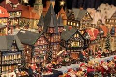 Stuk speelgoed stad Royalty-vrije Stock Afbeelding
