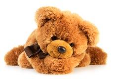 Stuk speelgoed teddybeer Stock Afbeelding