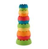 Stuk speelgoed toren Royalty-vrije Stock Foto