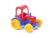 Stuk speelgoed tractor Royalty-vrije Stock Afbeeldingen