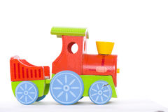 Stuk speelgoed trayn Royalty-vrije Stock Foto's