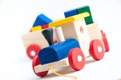 Stuk speelgoed trein Royalty-vrije Stock Fotografie