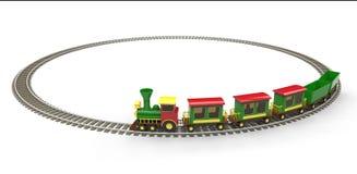 Stuk speelgoed trein Royalty-vrije Stock Foto's