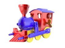 Stuk speelgoed trein Stock Foto's