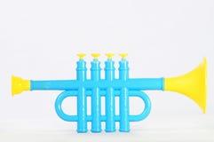 Stuk speelgoed trompet Royalty-vrije Stock Fotografie