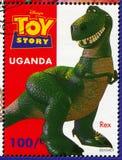 Stuk speelgoed verhaal royalty-vrije stock foto