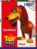 Stuk speelgoed verhaal royalty-vrije stock fotografie
