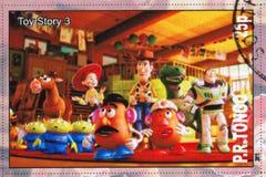 Stuk speelgoed verhaal Royalty-vrije Stock Afbeelding