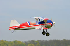 Stuk speelgoed vliegtuig Stock Fotografie