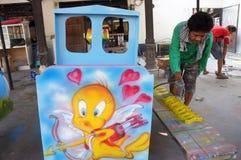 Stuk speelgoed voertuig Royalty-vrije Stock Afbeeldingen