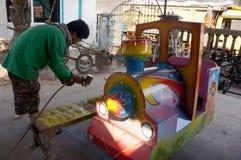 Stuk speelgoed voertuig Royalty-vrije Stock Fotografie