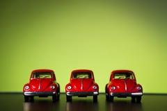 Stuk speelgoed Volkswagen Beetle Stock Afbeeldingen