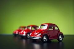Stuk speelgoed Volkswagen Beetle Royalty-vrije Stock Foto
