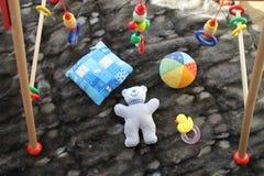 Stuk speelgoed voor een baby Stock Foto