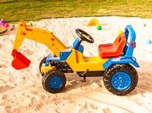 Stuk speelgoed vrachtwagens Royalty-vrije Stock Fotografie