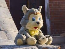 Stuk speelgoed wolf Royalty-vrije Stock Afbeelding