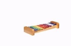 Stuk speelgoed xylofoon stock foto