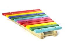 Stuk speelgoed xylofoon Stock Fotografie