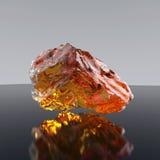 Stuk van amber royalty-vrije stock afbeelding
