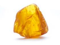 Geïsoleerde amber Stock Foto's
