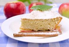 Stuk van appeltaart Royalty-vrije Stock Foto