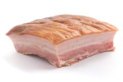 Stuk van bacon royalty-vrije stock foto's