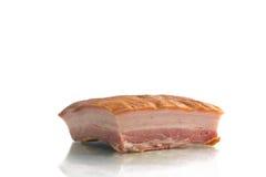 Stuk van bacon stock fotografie