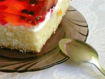 Stuk van Cake royalty-vrije stock afbeeldingen