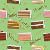 Stuk van cake Royalty-vrije Illustratie