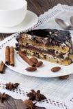 Stuk van cake stock afbeelding