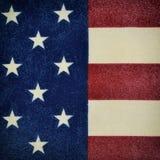 Stuk van de vlag van de Verenigde Staten Royalty-vrije Stock Foto