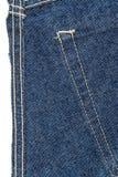 Stuk van jeansstof royalty-vrije stock foto's