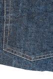 Stuk van jeansstof stock fotografie