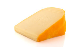 Stuk van kaas royalty-vrije stock afbeeldingen