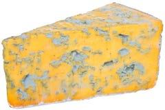 Stuk van kaas met edele vorm royalty-vrije stock foto