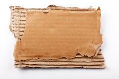 Stuk van karton royalty-vrije stock foto's