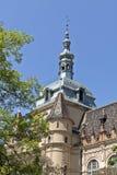 Stuk van KASTEEL VAJDAHUNYAD in Boedapest Stock Foto's