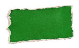 Stuk van kleurendocument Stock Fotografie