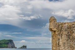 Stuk van overzees fort royalty-vrije stock foto