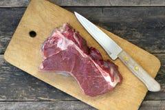 Stuk van rundvleesvlees royalty-vrije stock fotografie