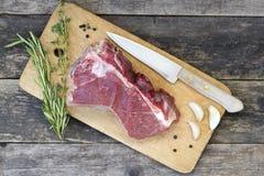 Stuk van rundvleesvlees royalty-vrije stock foto