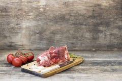 Stuk van rundvleesvlees royalty-vrije stock foto's