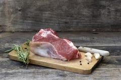 Stuk van rundvleesvlees stock afbeelding